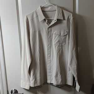 Arc'teryx long sleeve button up shirt